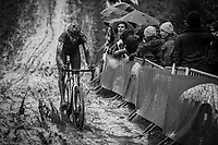 Toon Aerts (BEL/Telenet Fidea Lions) focussing riding the mud<br /> <br /> elite men's race<br /> GP Sven Nys 2018