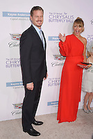 BRENTWOOD, CA - JUNE 11: Actor Eric Dane and wife/actress Rebecca Gayheart-Dane arriveat the 15th Annual Chrysalis Butterfly Ball at a private residence on June 11, 2016 in Brentwood, California.