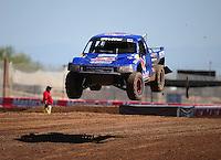 Apr 15, 2011; Surprise, AZ USA; LOORRS driver Ricky Johnson (48) during round 3 and 4 at Speedworld Off Road Park. Mandatory Credit: Mark J. Rebilas-.