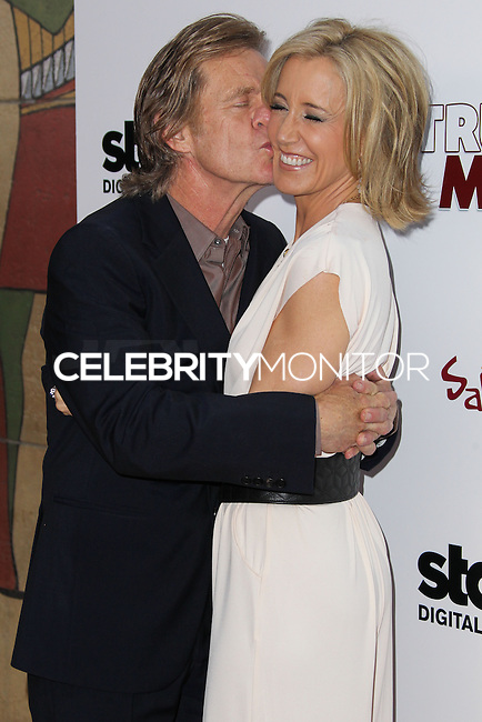 HOLLYWOOD, LOS ANGELES, CA, USA - MAY 22: William H. Macy, Felicity Huffman at the Los Angeles Premiere Of 'Trust Me' held at the Egyptian Theatre on May 22, 2014 in Hollywood, Los Angeles, California, United States. (Photo by Xavier Collin/Celebrity Monitor)