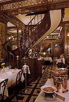 "Europe/France/Ile-de-France/Paris : ""BELLE-EPOQUE"" - Restaurant 24 rue Grande Truanderie - I er arrondissement<br /> PHOTO D'ARCHIVES // ARCHIVAL IMAGES<br /> FRANCE 1990"