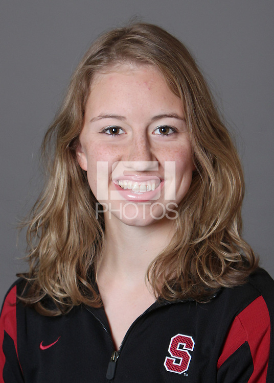 STANFORD, CA - OCTOBER 28:  Madison Crocker of the Stanford Cardinal synchronized swimming team poses for a headshot on October 28, 2009 in Stanford, California.