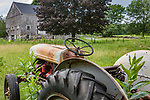 An old Ford Tractor at a farm in Princeton, MA