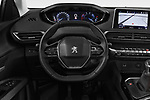 Car pictures of steering wheel view of a 2018 Peugeot 3008 Active 5 Door SUV