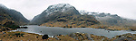 A panoramic view of the frozen Serpent Lake as it winds its way through The Gap of Dunloe, Killarney at the weekend..Picture by Don MacMonagle