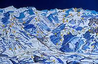Europe/Suisse/Saanenland/Gstaad: Plan des pistes