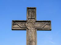 Kreuz am alten Hafen, Batumii, Adscharien - Atschara, Georgien, Europa<br /> cricifix at the old harbor, Batumi, Adjara,  Georgia, Europe