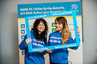 Friday 10 February 2017<br /> Pictured: <br /> Re:Welsh Government Dementia Risk Prevention Roadshow at the BT building, Swansea, Wales, UK