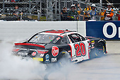 #20: Christopher Bell, Joe Gibbs Racing, Toyota Camry Rheem celebrates his win
