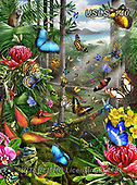Lori, REALISTIC ANIMALS, REALISTISCHE TIERE, ANIMALES REALISTICOS, zeich, paintings+++++Butterfly Tropics_Final,USLS140,#a#, EVERYDAY ,puzzle,puzzles