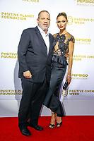 Harvey Weinstein, photocall d'arrivée pour la cérémonie de remise des prix de la Fondation Positive Planet de Jacques Attal, lors du soixante-dixième (70ème) Festival du Film à Cannes, Palm Beach, Cannes, Sud de la France, mercredi 24 mai 2017.