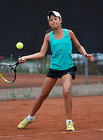 07-08-13, Netherlands, Rotterdam,  TV Victoria, Tennis, NJK 2013, National Junior Tennis Championships 2013, Merel Hoedt<br /> <br /> <br /> Photo: Henk Koster