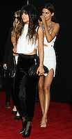 LOS ANGELES, CA - NOVEMBER 24: Kylie Jenner, Kendall Jenner arriving at the 2013 American Music Awards held at Nokia Theatre L.A. Live on November 24, 2013 in Los Angeles, California. (Photo by Celebrity Monitor)