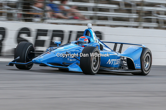 Chip Ganassi Racing driver Ed Jones (10) of United Arab Emirates in action during the DXC Technology 600 race at Texas Motor Speedway in Fort Worth,Texas.