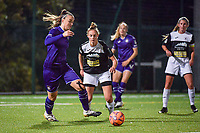 Anderlecht midfielder Tine De Caigny (6) pictured during a female soccer game between RSC Anderlecht Dames and Eendracht Aalst Ladies  on the fourth matchday of the 2020 - 2021 season of Belgian Womens Super League , Tuesday 13 th of October 2020  in ANDERLECHT , Belgium . PHOTO SPORTPIX.BE | SPP | STIJN AUDOOREN