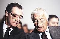 Cesare Romiti e Giovanni Agnelli