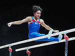 European Championships Glasgow 12th August 2018. Individual Apparatus Finals .JARMAN Jake GBR