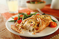 chicken in pastry food photos