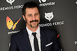 Hugo Silva attends to the Feroz Awards 2017 in Madrid, Spain. January 23, 2017. (ALTERPHOTOS/BorjaB.Hojas)