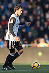 Daniel Parejo Munoz of Valencia CF in action during the La Liga 2017-18 match between Getafe CF and Valencia CF at Coliseum Alfonso Perez on December 3 2017 in Getafe, Spain. Photo by Diego Gonzalez / Power Sport Images