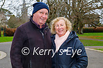 Enjoying a stroll in the Tralee town park on Sunday, l to r: Sheila and John O'Donoghue.