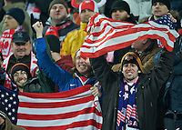 USA Fans. The United States defeated Poland 3-0 during an international friendly at Wisla Stadium in Krakow, Poland on March 26, 2008.