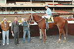 21 11 2009: Haynesfield with Ramon Dominguez are easy winners in the 65th running of theGrade III Discovery Handicap at Aqueduct Racetrack, Jamaica, NY.  Trained by Steve Asmussen.  Owned by Turtle Bird Stable.