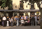"""St Helier Jersey The Channel islands An after work drink in the late summer sunshine """"Royal Square"""" UK 2000s"""