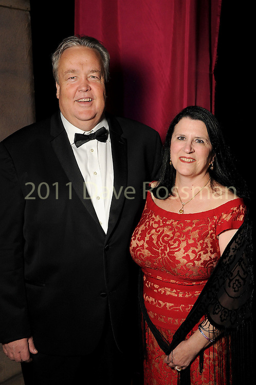 Joel Bartsch and his wife Susanne at the Ole! A Night in Old Mexico Gala at the Museum of Natural Science Saturday March 05,2016.(Dave Rossman Photo)