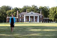 U.Va. alumni Kat Imhoff is president of the Montpelier Foundation at former president James Madison's Montpelier Estate in Orange, Va. Photo/Andrew Shurtleff