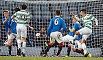 Josh Kerr scores the opening goal for Celtic