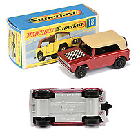 BNPS.co.uk (01202 558833)<br /> Pic: Vectis/BNPS<br /> <br /> Pictured: Matchbox Superfast 18a Field Car Twin-pack Issue<br /> <br /> One man's vast collection of model cars amassed over a lifetime has sold at auction for an incredible £250,000.<br /> <br /> Simon Hope, 68, has been collecting matchbox models since he was a small child and has bought over 4,000 over the past six decades.<br /> <br /> His hobby has cost him thousands of pounds and at and engulfed a huge slice of his life but he has now decided to part with the toys
