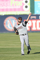 Yale Rosen (28) of the Lake Elsinore Storm throws before a game against the Lancaster JetHawks at The Hanger on May 9, 2015 in Lancaster, California. Lancaster defeated Lake Elsinore, 3-1. (Larry Goren/Four Seam Images)