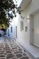 cycladic paved path