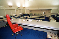Crown court room showing the dock, judges chair and bench, jury, prosecuting and defending benches. This image may only be used to portray the subject in a positive manner..©shoutpictures.com..john@shoutpictures.com