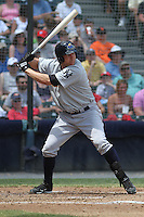 Trenton Thunder first baseman Luke Murton #59 at bat during a game against the Richmond Flying Squirrels at The Diamond on May 27, 2012 in Richmond, Virginia. Richmond defeated Trenton by the score of 5-2. (Robert Gurganus/Four Seam Images)