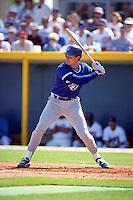 Toronto Blue Jays John Olerud during Spring Training 1993 at Charlotte Sports Park in Port Charlotte, Florida.  (MJA/Four Seam Images)
