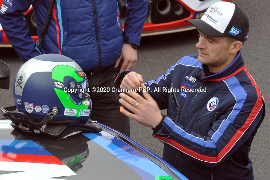2020 British Touring Car Championship Media day. #1 Colin Turkington. Team BMW. BMW 330i M Sport.
