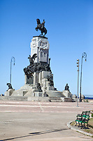 Cuba, Havana.  Monument to Jose Antonio Maceo, Cuban Independence Hero.  1845-1896.