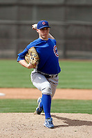 James Leverton - Chicago Cubs - 2009 spring training.Photo by:  Bill Mitchell/Four Seam Images