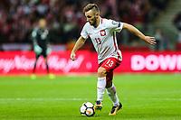 04.09.2017, Warszawa, pilka nozna, kwalifikacje do Mistrzostw Swiata 2018, Polska - Kazachstan, Maciej Rybus (POL), Poland - Kazakhstan, World Cup 2018 qualifier, football, fot. Tomasz Jastrzebowski / Foto Olimpik<br /><br /> POLAND OUT !!! *** Local Caption *** +++ POL out!! +++<br /> Contact: +49-40-22 63 02 60 , info@pixathlon.de