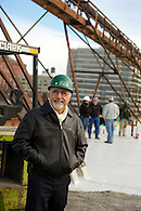 A construction company CEO photographed on location.