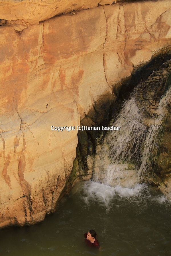 Judean desert, Ein Qelt in Wadi Qelt