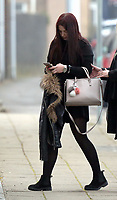 """Pictured: Shelbie Forgan arrives at Swansea Crown Court. 28 March 2017<br /> Re: Toddlers at a private nursery were force fed, gagged and picked up by their wrists, Swansea Crown court has heard.<br /> Three childcare professionals are accused of cruelty at the busy nursery which had a """"rough house culture"""".<br /> The whistle was blown by sixthformers on work placements at the nursery which looks after newborn infants and children up to the age of seven.<br /> """"The children concerned were left distressed and traumatised.<br /> The mother of one of the children sobbed in the public gallery after hearing how he was treated at the Bright Sparks nursery in Port Talbot, South Wales,<br /> Owner and manager Katie Davies, 32, deputy manager Christina Pinchess, 31, and and staff member Shelbie Forgan, 22, deny the child cruelty charges against them."""