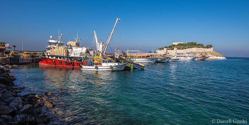 Fine Art Landscape Photograph of the Seaport of Kusadasi, Turkey.