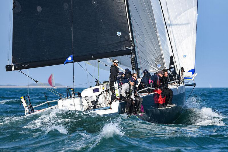 Ed Bell's JPK 11.80 Dawn Treader will be one of several highly competitive teams in the Rolex Fastnet Race in IRC Two