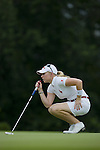 SINGAPORE - MARCH 05:  Morgan Pressel of the USA on the par five 5th hole during the first round of HSBC Women's Champions at the Tanah Merah Country Club on March 5, 2009 in Singapore.  Photo by Victor Fraile / The Power of Sport Images