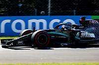 4th September 2020; Autodromo Nazionale Monza, Monza, Italy ; Formula 1 Grand Prix of Italy, free practise sessions;  44 Lewis Hamilton GBR, Mercedes-AMG Petronas Formula One Team