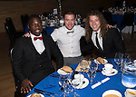 St Johnstone Hall of Fame Dinner, Perth Concert Hall...05.10.13<br /> Nigel Hasselbaink, Paddy Cregg and Stevie May<br /> Picture by Graeme Hart.<br /> Copyright Perthshire Picture Agency<br /> Tel: 01738 623350  Mobile: 07990 594431