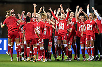 Players of Denmark celebrate at the end of the Women s EURO 2022 qualifying football match between Italy and Denmark at stadio Carlo Castellani in Empoli (Italy), October, 27th, 2020. Photo Andrea Staccioli / Insidefoto